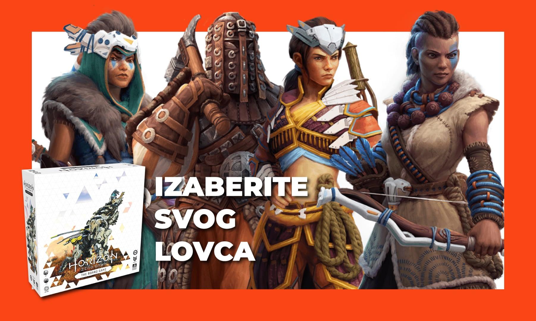 Read more about the article Horizon Zero Dawn: The Board Game – Izaberite svog lovca