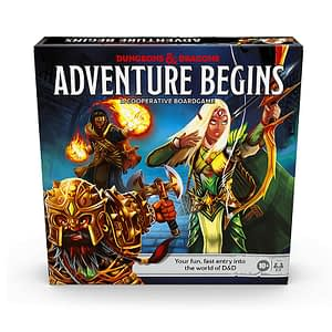 Dungeons and Dragons: The Adventure Begins