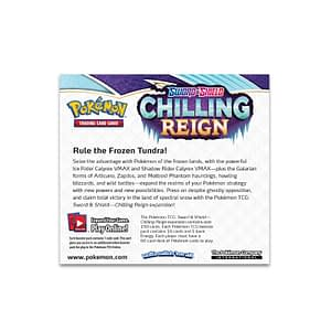Pokemon Sword and Shield – Chilling Reign Booster Box