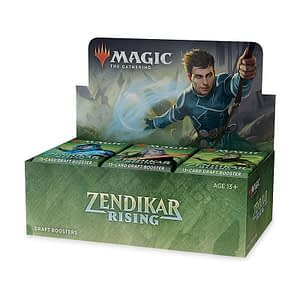 Magic The Gathering: Zendikar Rising Draft Booster Box