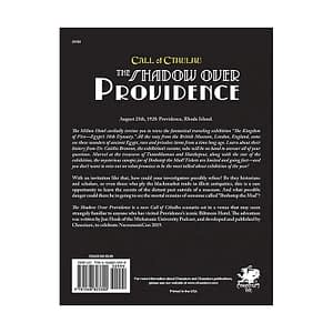 Call of Cthulhu RPG – The Shadow Over Providence