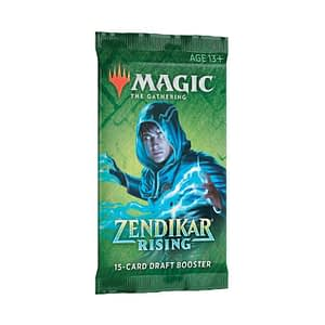 Magic The Gathering: Zendikar Rising Draft Booster