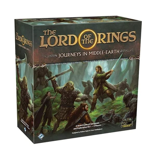 The Lord of the Rings: Journeys in Middle-Earth Board Game slika